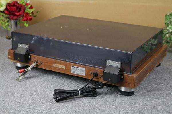 ジャンク!! MICRO ターンテーブル SOLID-5 マイクロ ベルトドライブ_画像2