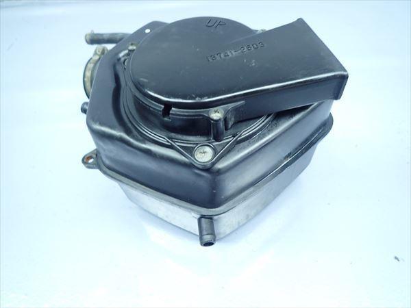 βP24 スズキ グラストラッカー BB ビッグボーイ NJ47A (H14年式) 純正 エアクリーナーボックス エアクリ 割れ有り!_画像2