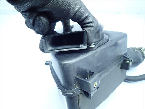 βP24 スズキ グラストラッカー BB ビッグボーイ NJ47A (H14年式) 純正 エアクリーナーボックス エアクリ 割れ有り!_画像5