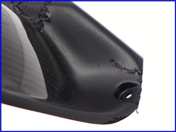 【M1】ZZR1400 A-TECH カーボンアッパーインナーパネル 右側♪Black Diamond♪_画像8