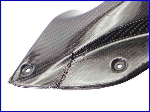 【M1】ZZR1400 A-TECH カーボンアッパーインナーパネル 右側♪Black Diamond♪_画像5