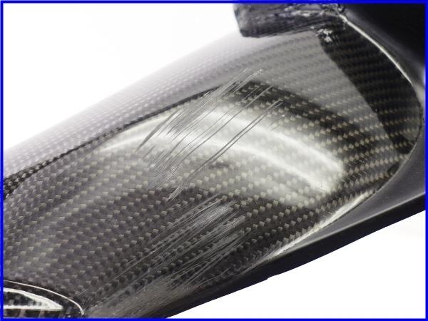 【M1】ZZR1400 A-TECH カーボンアッパーインナーパネル 右側♪Black Diamond♪_画像9