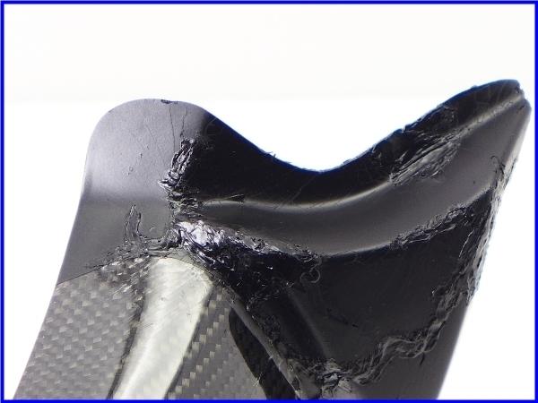 【M1】ZZR1400 A-TECH カーボンアッパーインナーパネル 右側♪Black Diamond♪_画像6