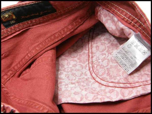 新品 Shaft JEANS シャフトジーンズ 定価2万8,350円 【イタリア製】 デニムパンツ 33/47 ストレッチ ★261930_画像5