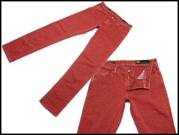新品 Shaft JEANS シャフトジーンズ 定価2万8,350円 【イタリア製】 デニムパンツ 33/47 ストレッチ ★261930_画像2