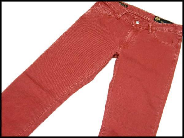 新品 Shaft JEANS シャフトジーンズ 定価2万8,350円 【イタリア製】 デニムパンツ 33/47 ストレッチ ★261930_画像1