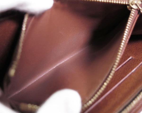 1円 ルイヴィトン LOUISVUITTON 財布 長財布 ラウンドファスナー モノグラム パンダ ポルトモネジップ M61729 レディース 1464420_画像8