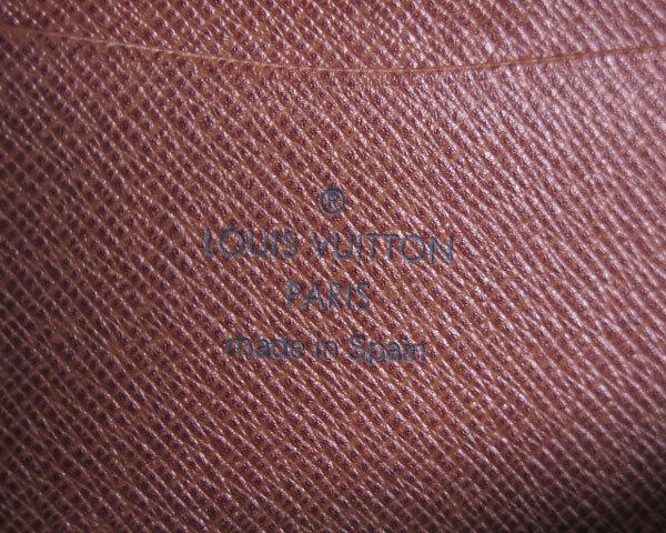 1円 ルイヴィトン LOUISVUITTON 財布 長財布 ラウンドファスナー モノグラム パンダ ポルトモネジップ M61729 レディース 1464420_画像7