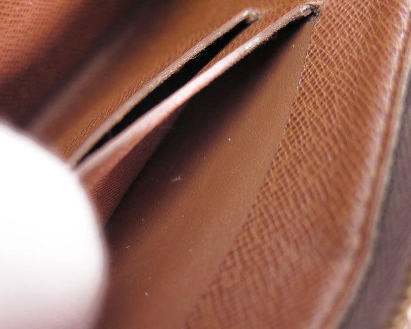 1円 ルイヴィトン LOUISVUITTON 財布 長財布 ラウンドファスナー モノグラム パンダ ポルトモネジップ M61729 レディース 1464420_画像9