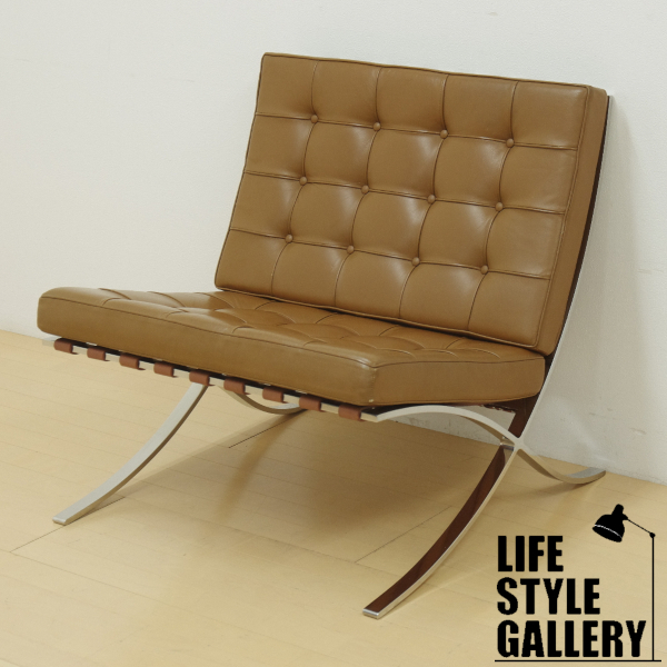 Awe Inspiring Knoll Barcelona Chair Mi S Fan Dell Low E Brown No Ru Ncnpc Chair Design For Home Ncnpcorg