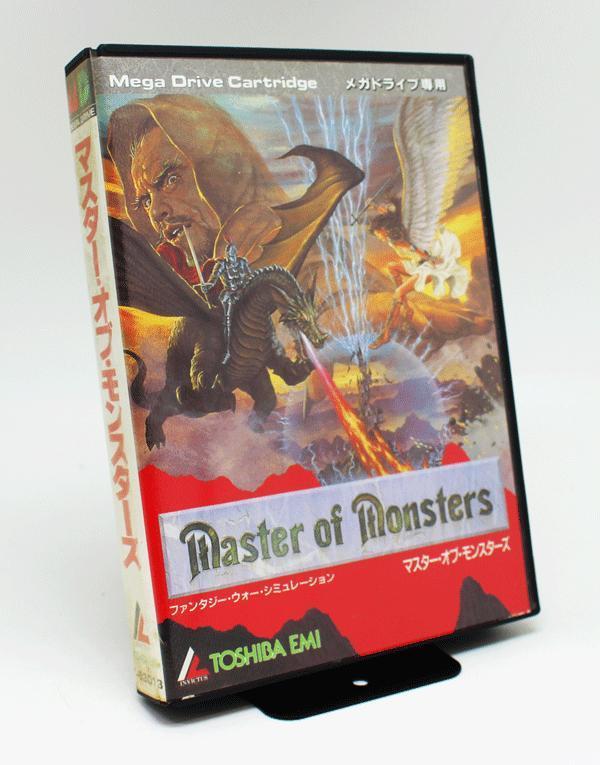 ★箱付き★MD Master of Monsters マスターオブ・モンスターズ★メール便 r0219_画像1