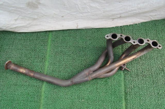 AE86 レビン 4AG メーカー不明 社外 ステン たこ足 エキマニ フロントパイプ 4-1 トレノ 補修ベース ①_画像2