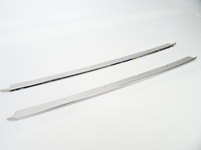 後期 ステンレス フロントバンパー ダクト モール ガーニッシュ ノア ZWR80W ZWR85W X G ハイブリッドX ハイブリッドG メッキ 2017年7月_画像2