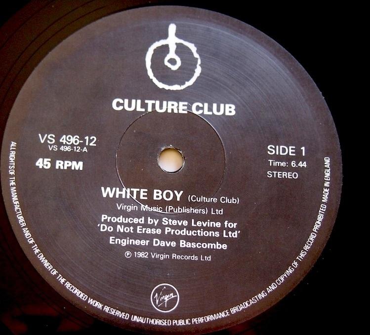 "★12""/ Culture Club / White Boy_画像3"
