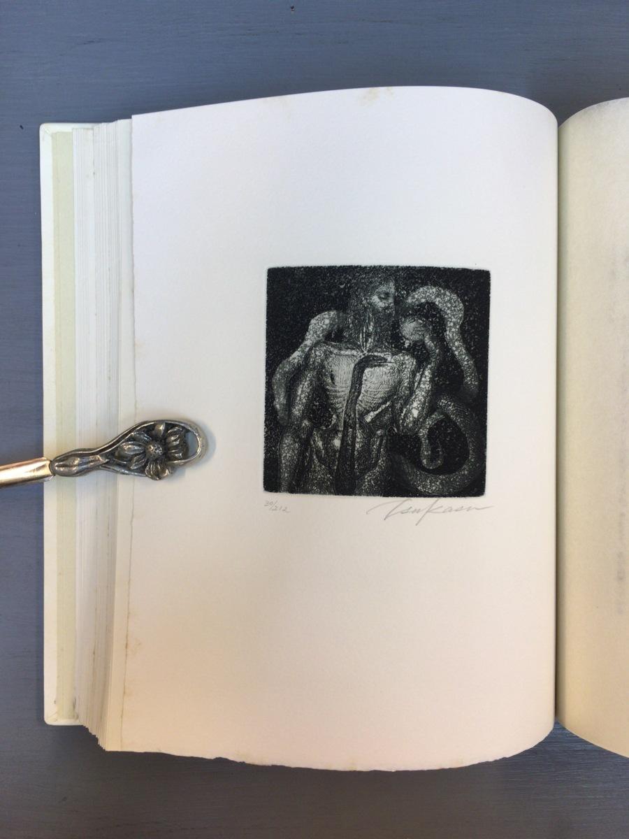 司修オリジナル銅版画8点『武田泰淳 富士 特製愛蔵版』完品 二重函 署名入 限定212部_画像7