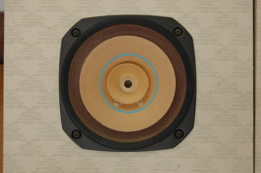 【Fostex/フォステクス/スピーカー/FE167/自作のスピーカーボックス/ペア/現状品】音楽音響機器オーディオ_画像5