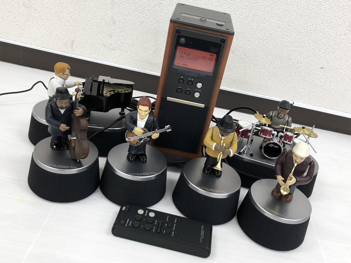 BANDAI LITTLE JAMMER PRO 本体+6体セット バンダイ リトルジャマープロ