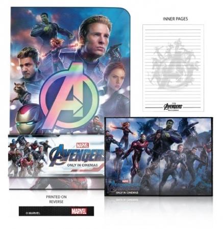 【非売品レアグッズ】映画『アベンジャーズ/エンドゲーム』(Avengers)オリジナルノートブック/アイアンマン,ハルク,ブラック・ウィドウ_画像4