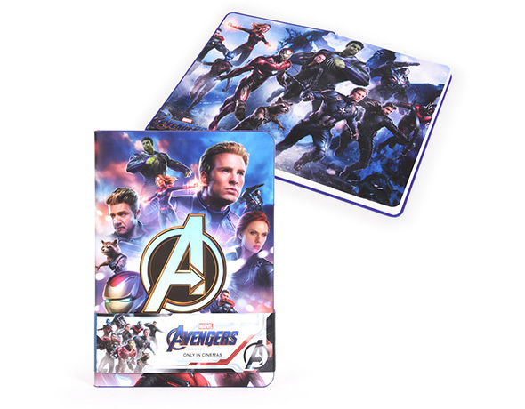 【非売品レアグッズ】映画『アベンジャーズ/エンドゲーム』(Avengers)オリジナルノートブック/アイアンマン,ハルク,ブラック・ウィドウ_画像3