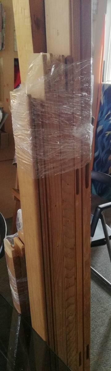 木枠マルオカ1本 P80号 ・nasuno(ナスノ・那須野)1本F100号の2本セット 中古 油絵キャンバス用組み立て式_画像5
