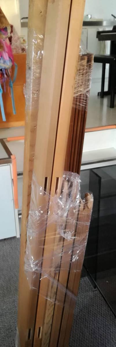 木枠マルオカ1本 P80号 ・nasuno(ナスノ・那須野)1本F100号の2本セット 中古 油絵キャンバス用組み立て式_画像3