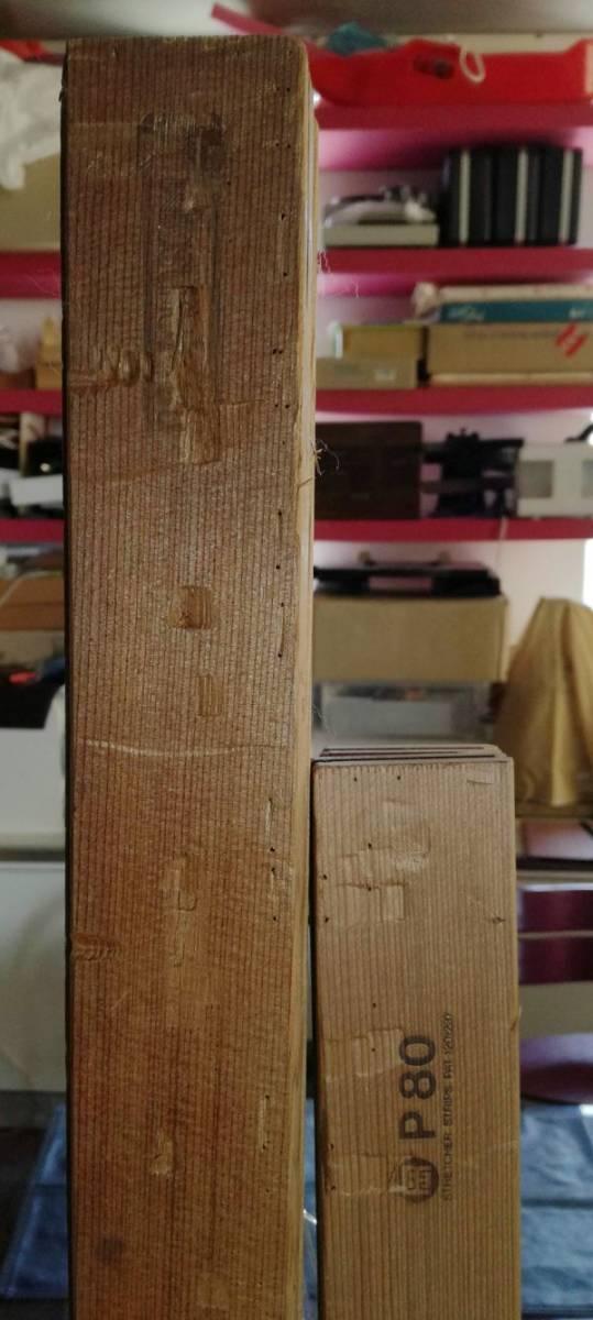 木枠マルオカ1本 P80号 ・nasuno(ナスノ・那須野)1本F100号の2本セット 中古 油絵キャンバス用組み立て式_画像1