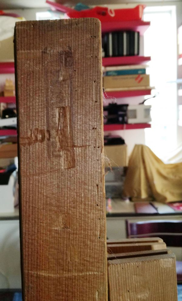 木枠マルオカ1本 P80号 ・nasuno(ナスノ・那須野)1本F100号の2本セット 中古 油絵キャンバス用組み立て式_画像8