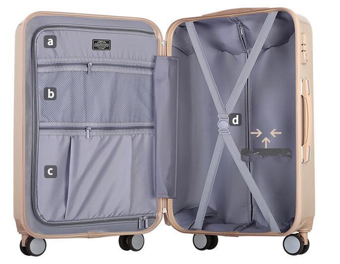 航空級 キャリーケース 強い耐圧 TSAロック搭載 スーツケース トランク 大型 20インチ_画像9