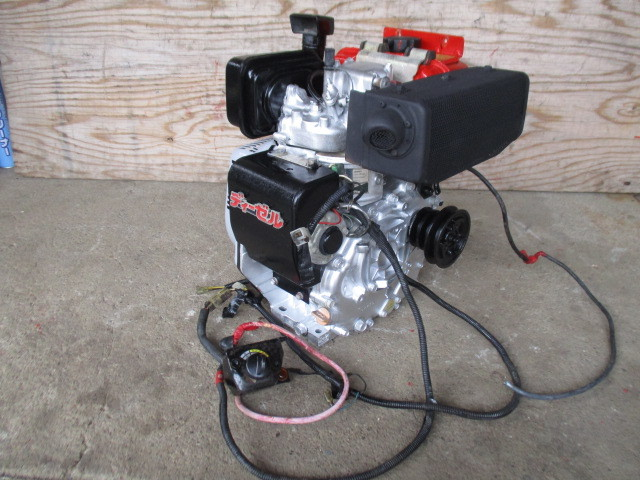 ヤンマーディーゼルエンジンL60SET、セル始動式_画像1