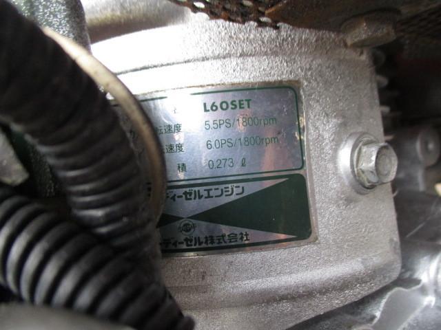 ヤンマーディーゼルエンジンL60SET、セル始動式_画像2