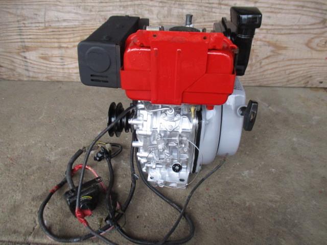 ヤンマーディーゼルエンジンL60SET、セル始動式_画像3