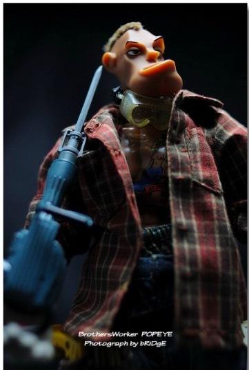 【新品未開封品 】鉄人兄弟ブラザーズワーカーbrothersworker Popeye【検索】エリックソウ 鐵人兄弟 ホットトイズhottoysメディコム