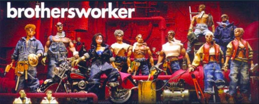 【新品未開封品 】鉄人兄弟ブラザーズワーカーbrothersworker Bomb【検索】マイケルラウ 鐵人兄弟 ホットトイズhottoysメディコム_画像10