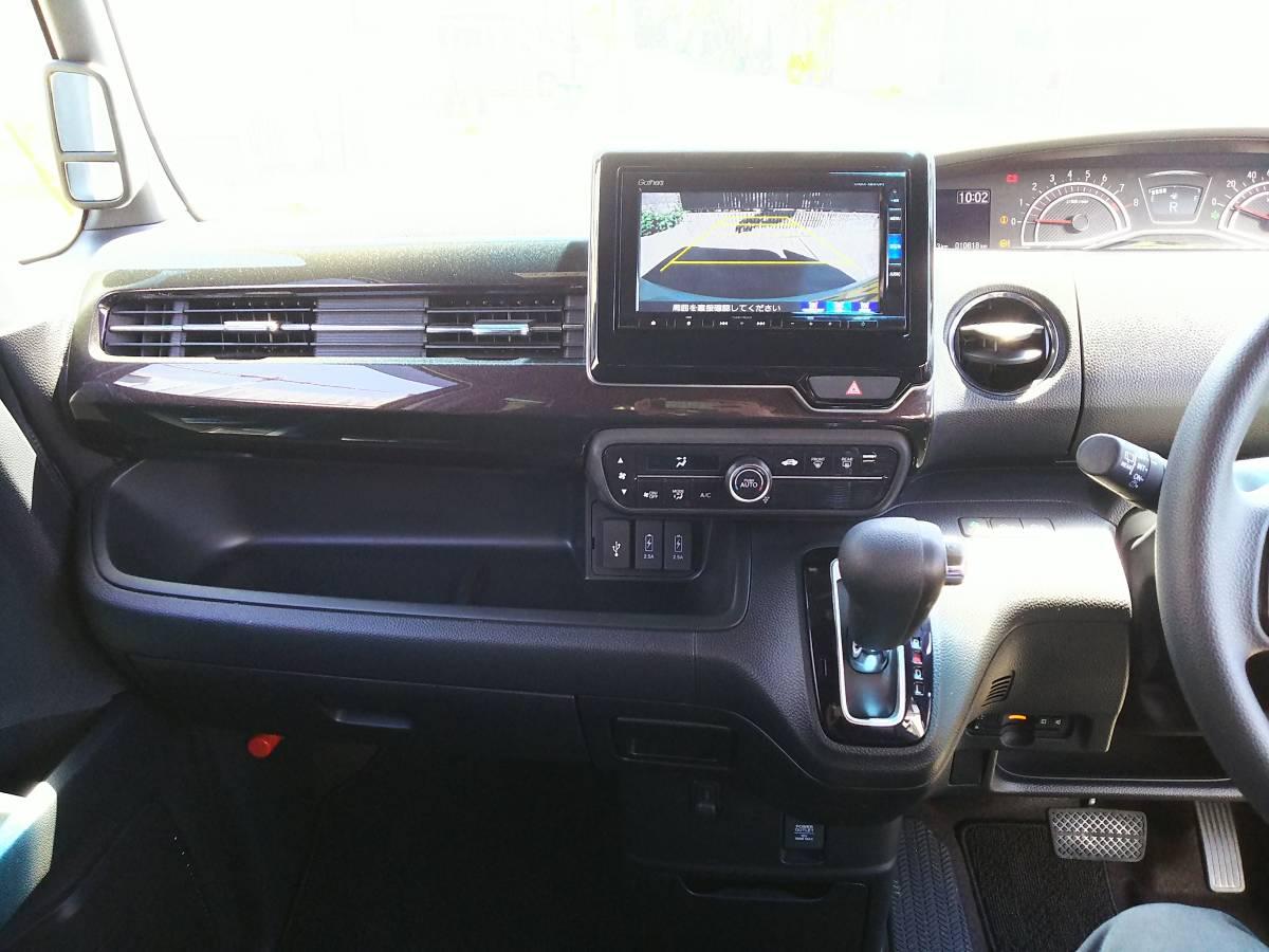 H30年式 N-BOXカスタム G・Lホンダセンシング 両側パワスラ 検R3年5月 ナビ更新無料 新車保証可_画像5