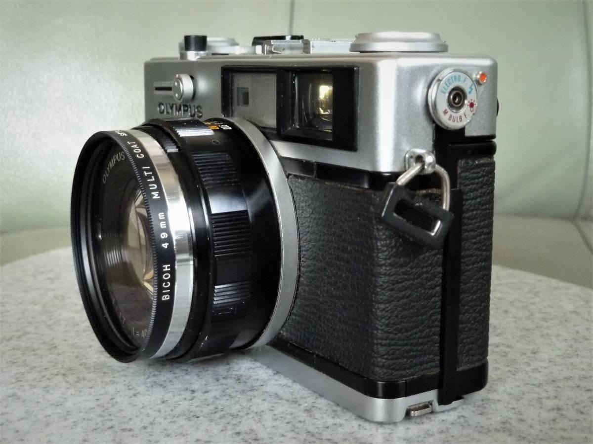 オリンパス OLYMPUS 35DC F.ZUIKO 40mm 1:1.7 動作品_画像2