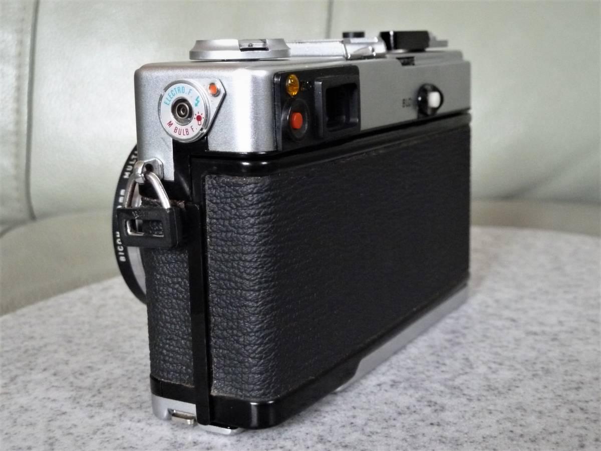 オリンパス OLYMPUS 35DC F.ZUIKO 40mm 1:1.7 動作品_画像3