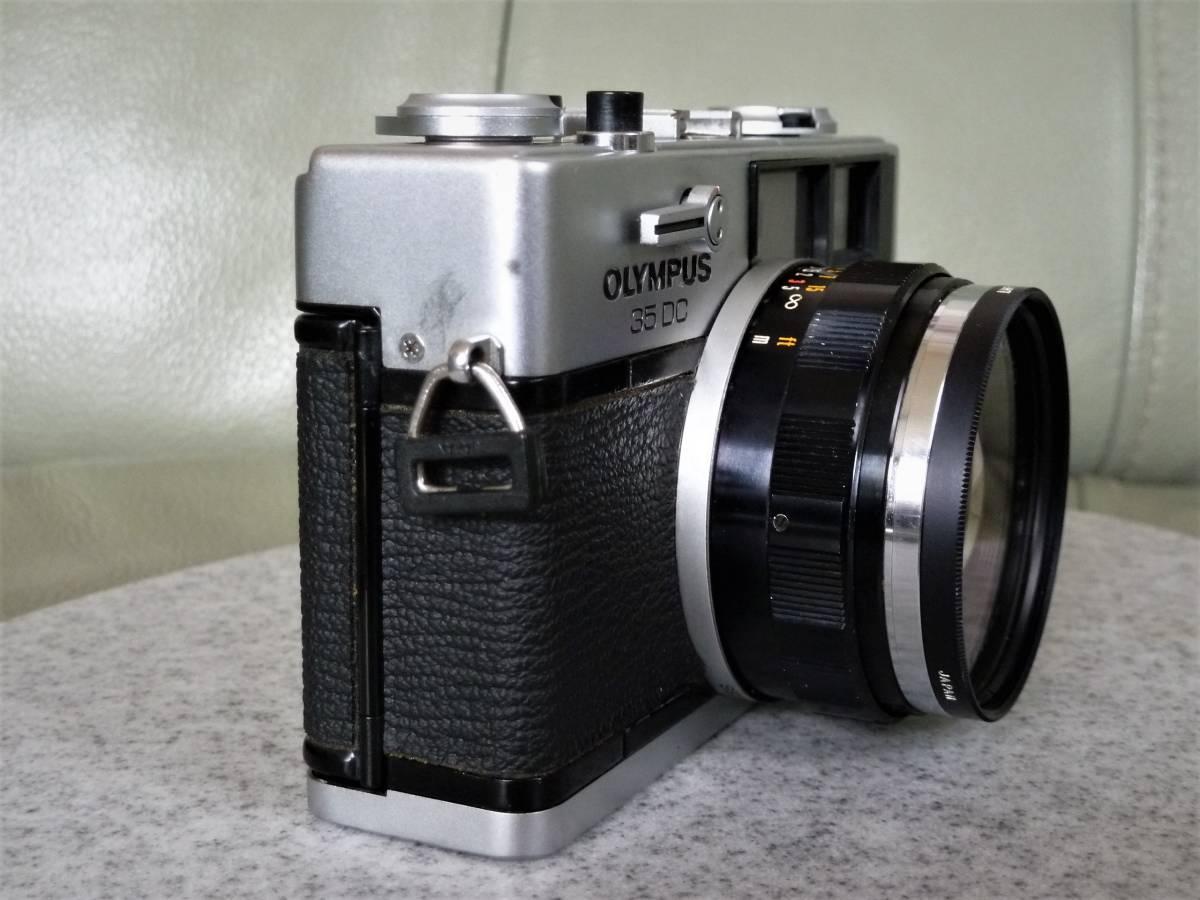オリンパス OLYMPUS 35DC F.ZUIKO 40mm 1:1.7 動作品_画像5