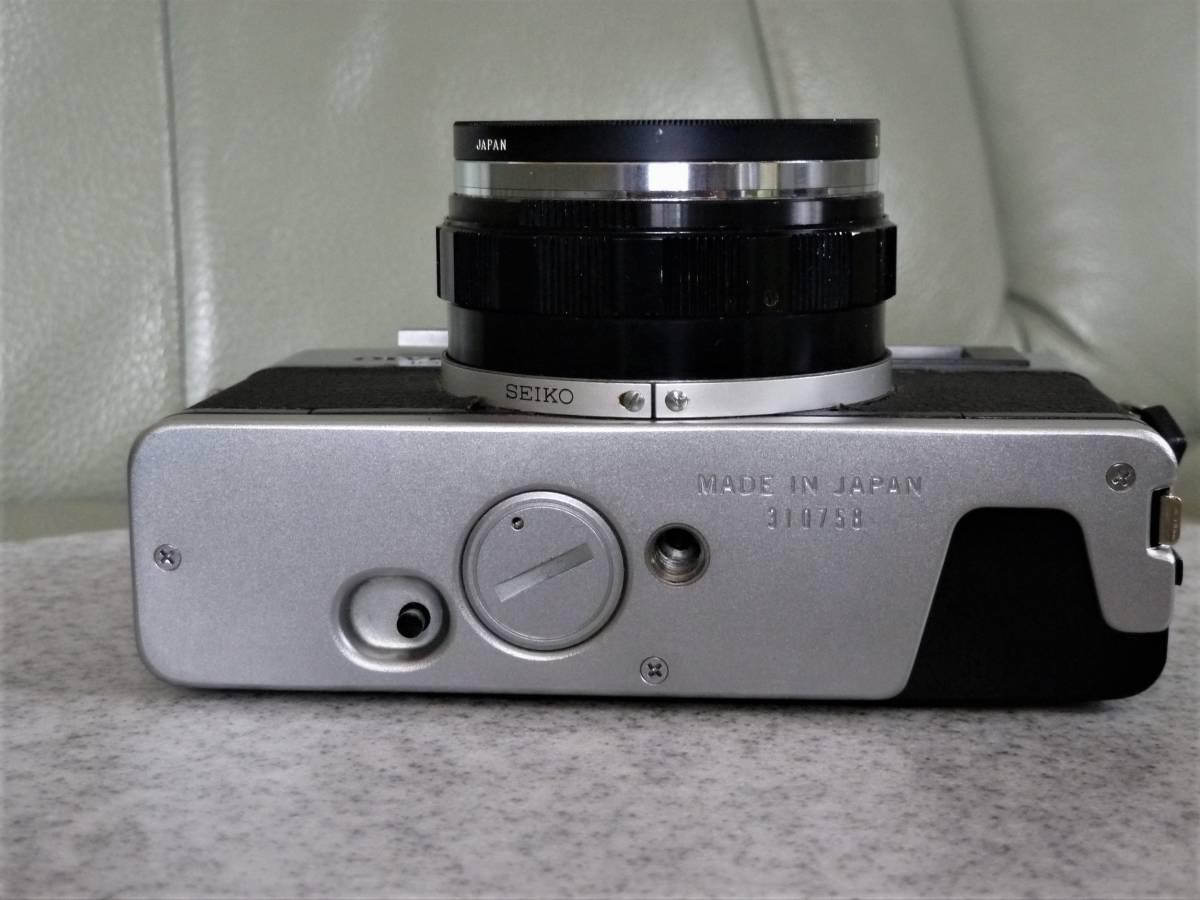 オリンパス OLYMPUS 35DC F.ZUIKO 40mm 1:1.7 動作品_画像7