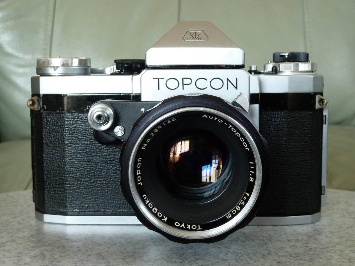 トプコン Topcon R 5.8cm f1.8 Auto-topcor オート トプコール