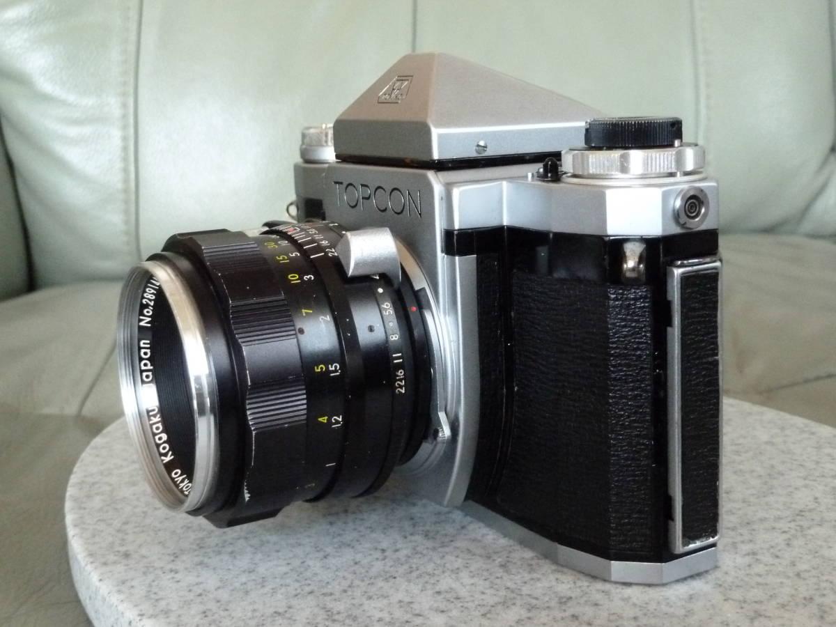 トプコン Topcon R 5.8cm f1.8 Auto-topcor オート トプコール_画像2