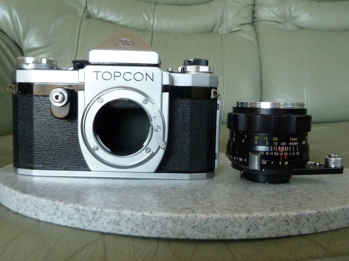 トプコン Topcon R 5.8cm f1.8 Auto-topcor オート トプコール_画像6