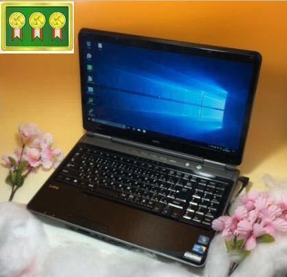 即決送料無料!超得キビキビSSD!サクサク! core i5☆最新OS Windows10 Pro64bit/NECノートPC/SSD 240GB/ブルーレイ/Office/iTunes/ LL750C