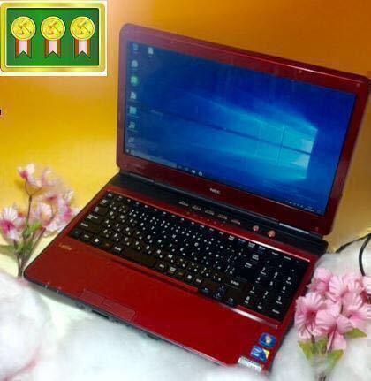超得キビキビ新品SSD240GB!サクサクcore i5!☆最新OS Windows10 Pro64bit/NECノートPC/ブルーレイ/Office/iTunes/LINE/LL750W/テンキー
