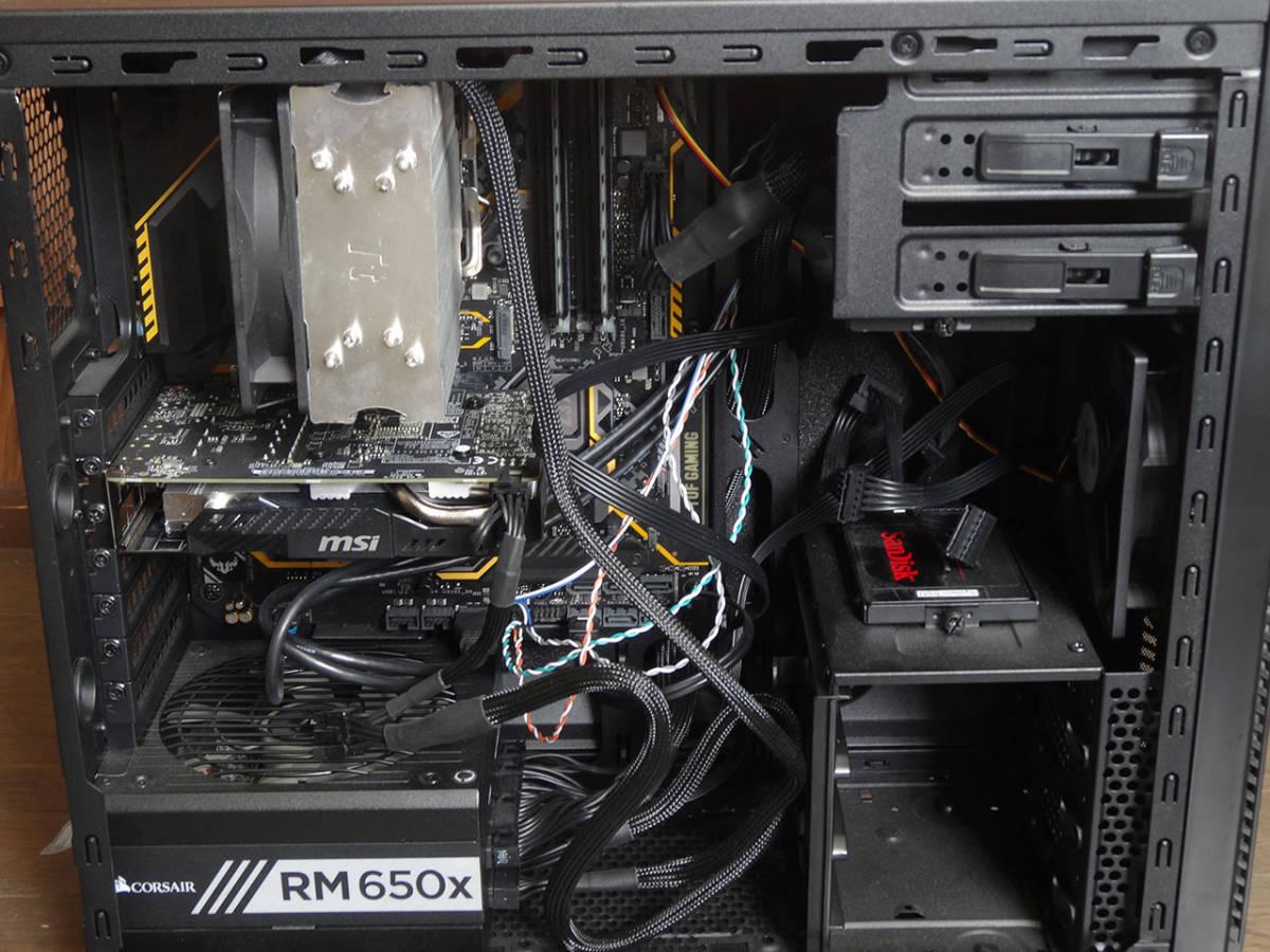 送料無料 中古 自作PC Core i7 8700K メモリ16GB SSD240GB GeForce 1060 6GB Windows10 Pro認証済_画像2