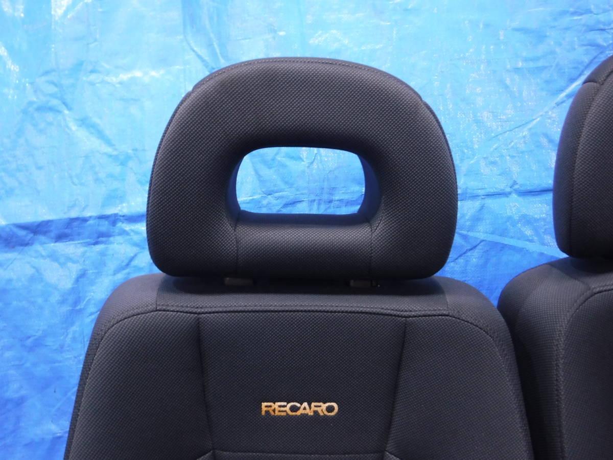 オッティ H91W レカロRECARO シート フロント 左右 セット 運転席 助手席_画像2