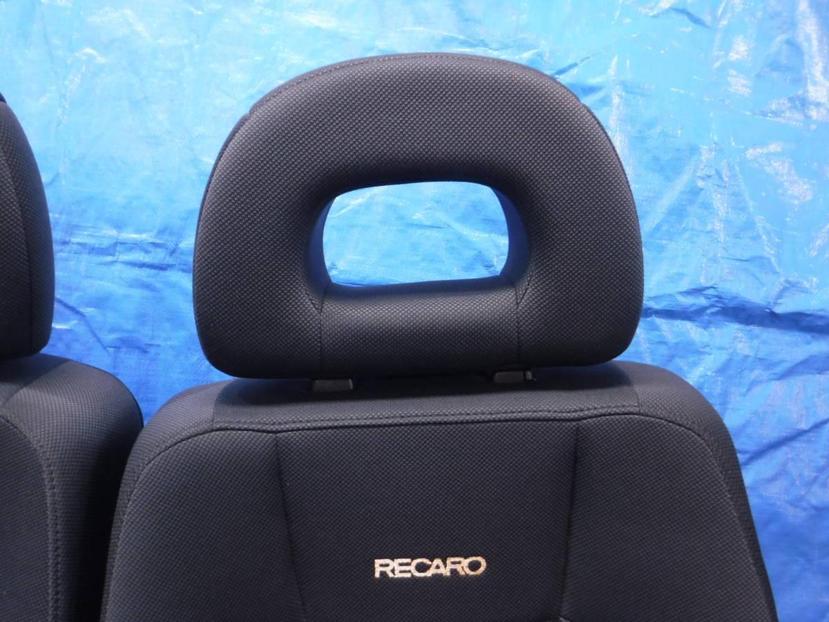 オッティ H91W レカロRECARO シート フロント 左右 セット 運転席 助手席_画像6