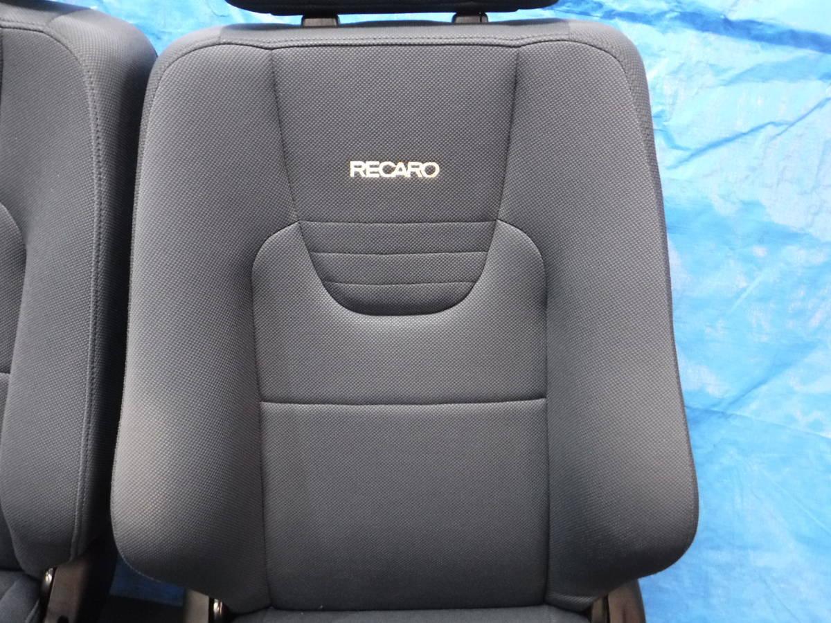 オッティ H91W レカロRECARO シート フロント 左右 セット 運転席 助手席_画像7