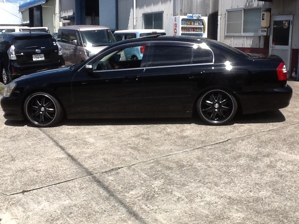 逆輸入 インフィニティ Q45 人気の黒 黒革 サンルーフ 新品アルミタイヤセット ベース車_画像8