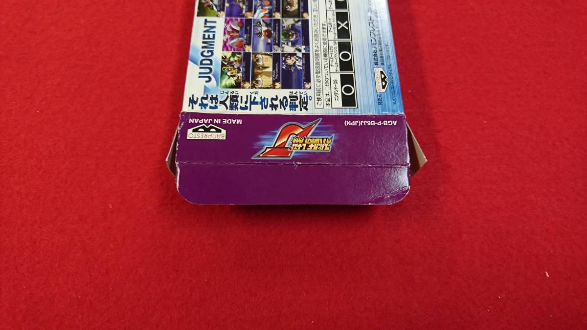 GBA ゲームボーイアドバンス スーパーロボット大戦J 箱・取説あり_画像7