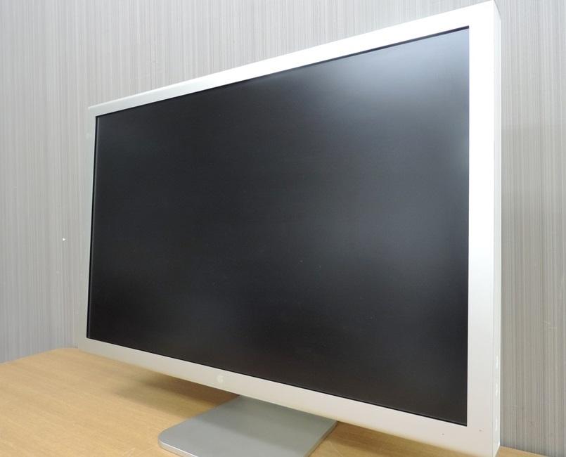 t8122◆Apple Cinema HD Display【A1083】30インチフラットパネルモデル◆ジャンク品_画像2